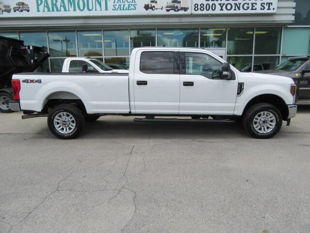 2019 ford super duty f-250 xlt 4x4 gas crew cab with 8ft long box for sale in ontario ontariocars