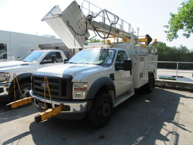 2009 ford f-450 with service body telelift ladder bucket for sale in ontario ontariocars