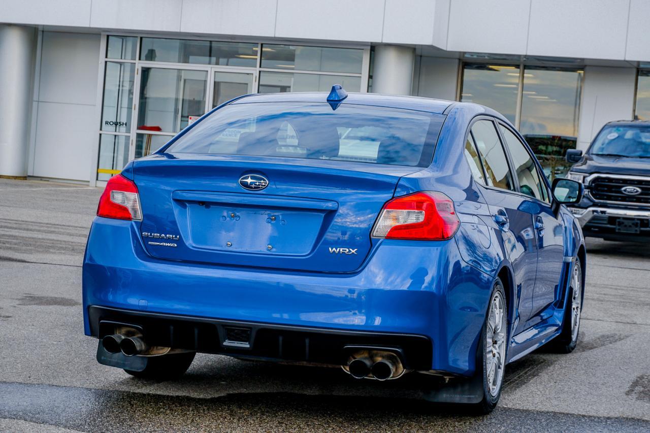 2017 Subaru WRX 4dr Sdn Man