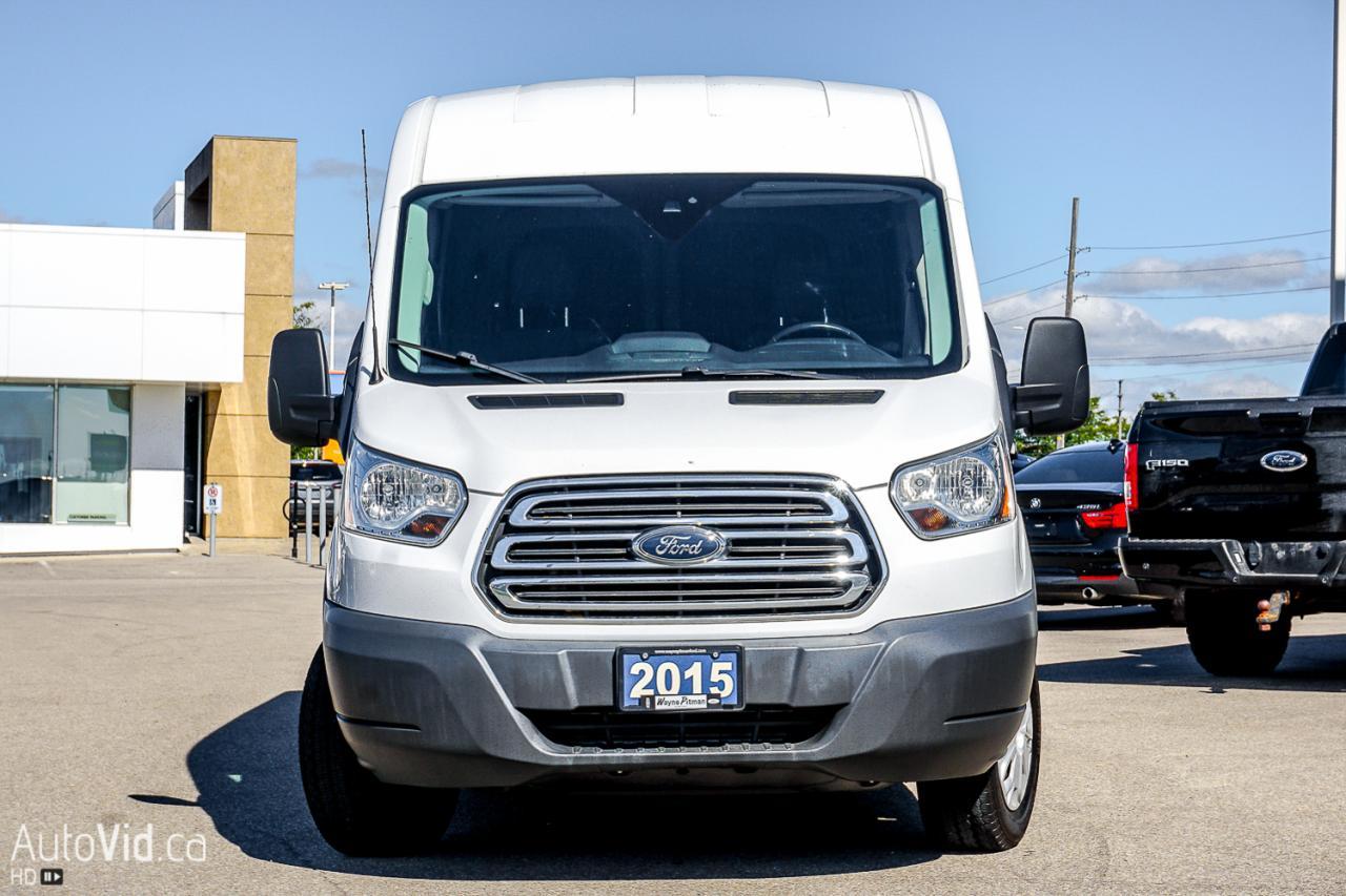 2015 Ford Transit Cargo Van T-250 148 Med Rf 9000 GVWR Sliding RH Dr