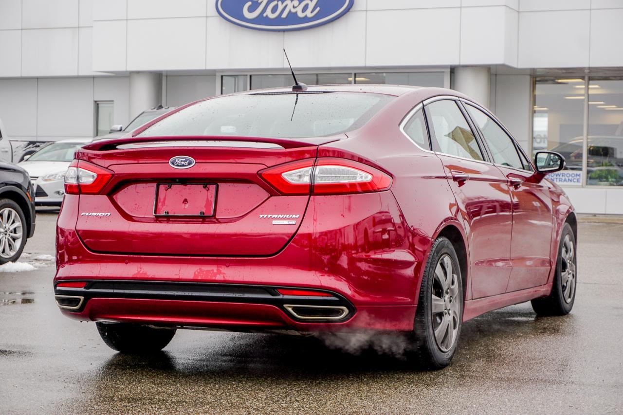 2016 Ford Fusion 4dr Sdn Titanium AWD