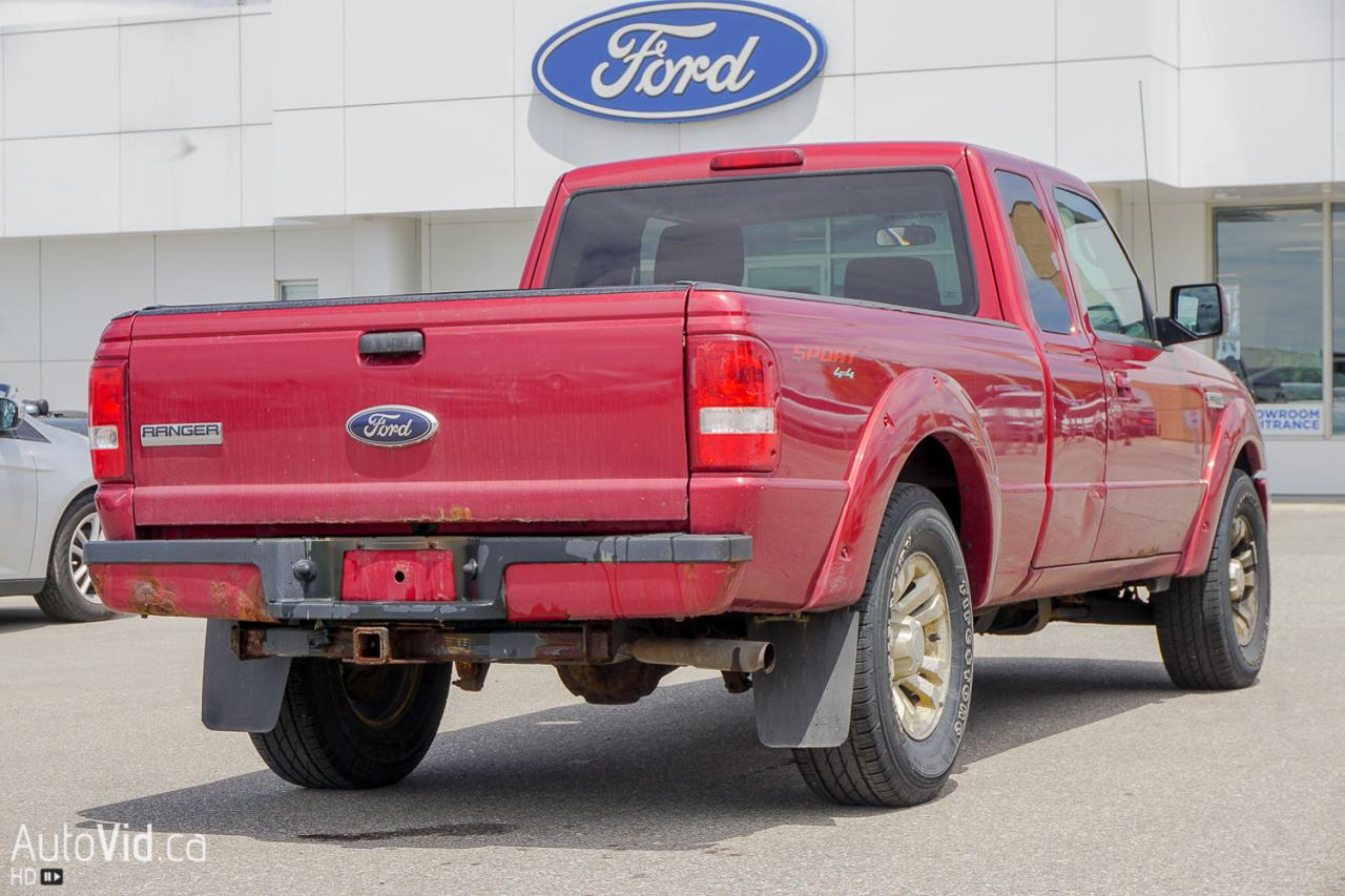 2011 Ford Ranger 4WD SuperCab 126 Sport