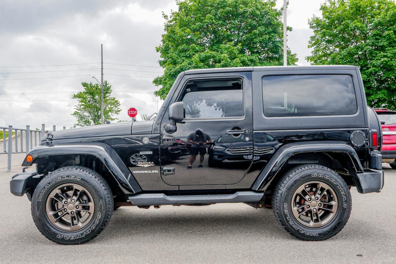2014 Jeep Wrangler 4WD 2dr Sahara