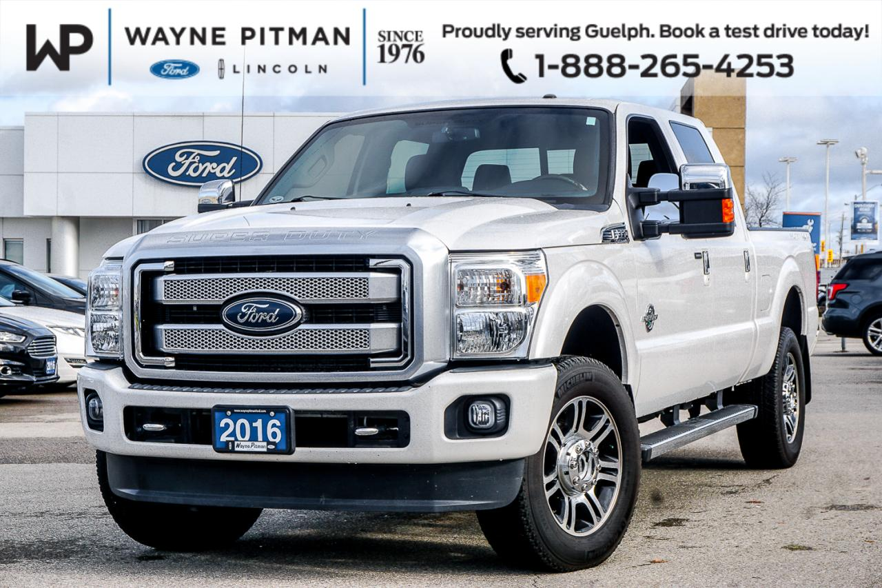 2016 Ford Super Duty F-350 SRW PLATINUM